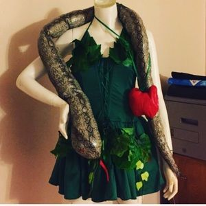 New Dreamgirl Eve Costume w Snake and Apple 🍎